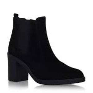 Kurt Geiger Carvela BLock Heel Ankle Boot